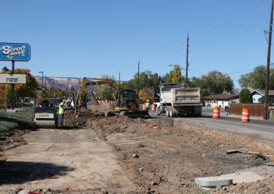 B 1/2 Road project